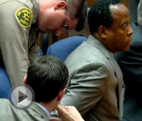 杰克逊案尘埃落定 医生莫里被判监禁四年