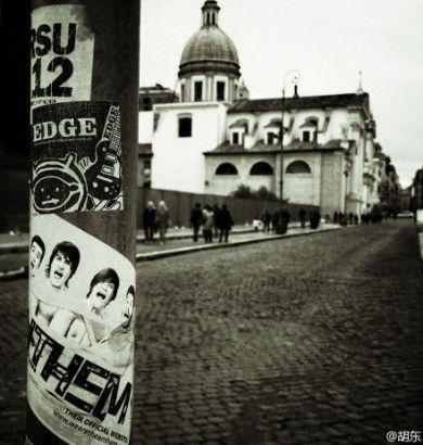 胡东摄影:罗马街头