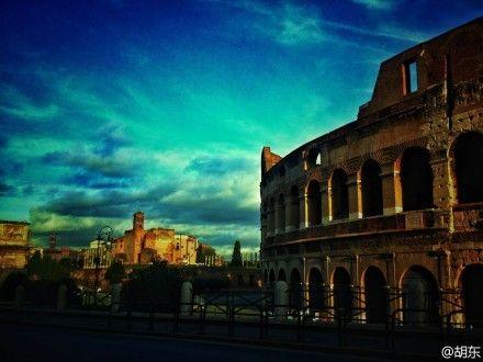 胡东摄影:拍到罗马斗兽场