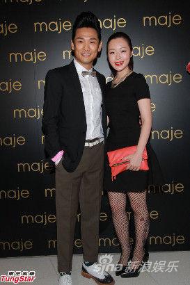 杜德伟与未婚妻Ice