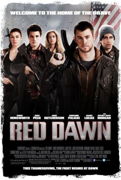 《红色黎明》海报