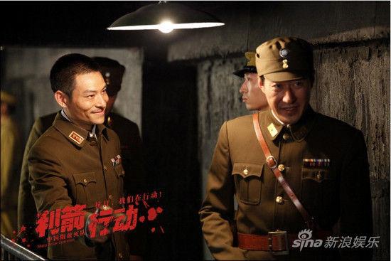 公司2012杀青的抗战动作传奇巨制,由著名导演国建勇执导,汇聚了于震图片