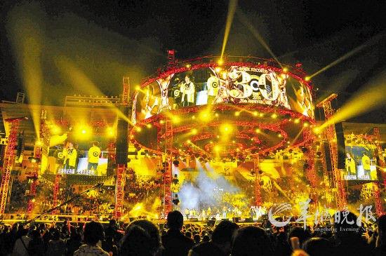 滚石30广州开唱