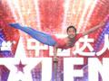 单手空中芭蕾技艺精湛