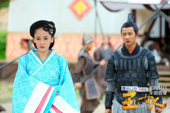 《王的女人》罗晋苦恋陈乔恩