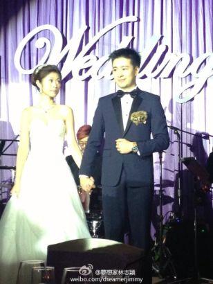 林志颖分享弟弟婚礼照