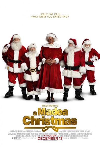 《黑疯婆的快乐圣诞》海报