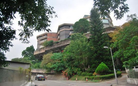 寿山村道 8 号的恒安阁是一栋接近正八边形的复式公寓,周围开满了三角梅,这里是梅艳芳度过人生最后 9 年的故居。(摄影:柯文浩)
