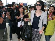 组图:王菲李亚鹏抵达不丹与胡军老友相聚