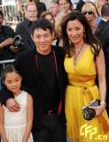 组图:《木乃伊3》美国首映李连杰携女走红毯