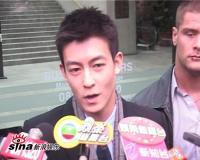 组图:陈冠希回避复出传闻希望受害者站起来