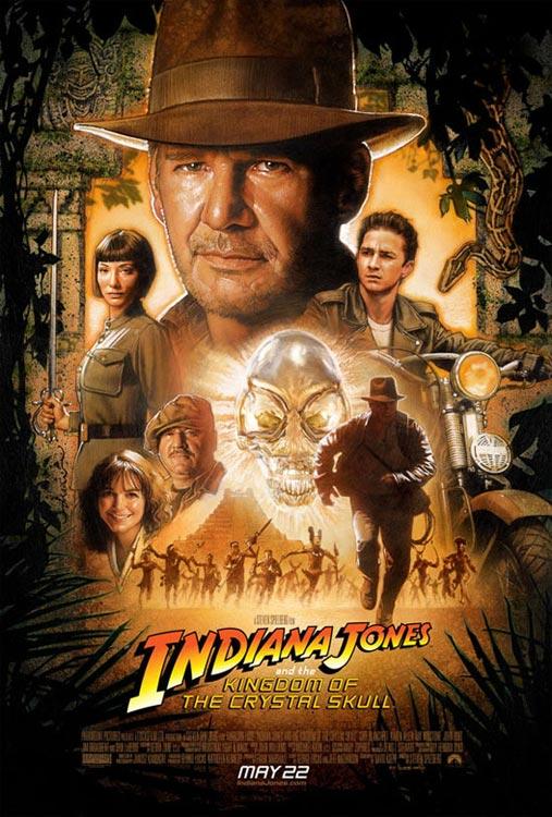 夺宝奇兵 Raiders of the Lost Ark 1~4 【1981~2008】【动作 / 冒险】【美国】