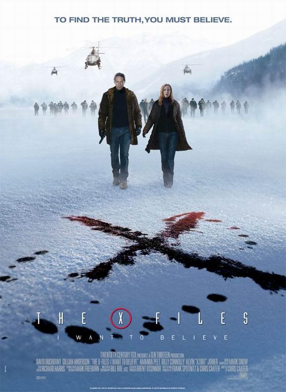 08最新科幻大片《X档案2》DVD中英双字幕迅雷下载
