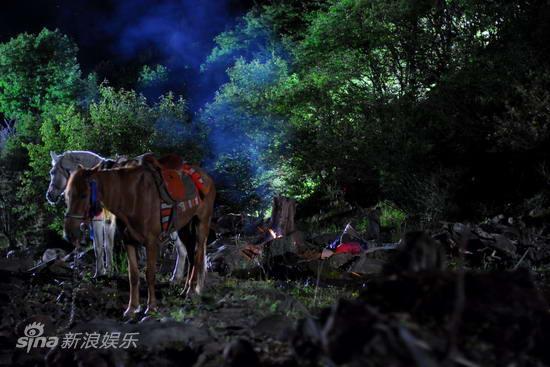 资料图片:电视剧《香格里拉》精彩剧照(13)