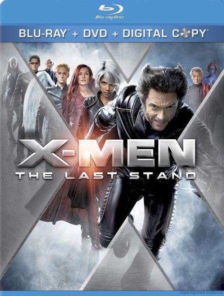《X战警3:背水一战》发行蓝光DVD数字拷贝合辑
