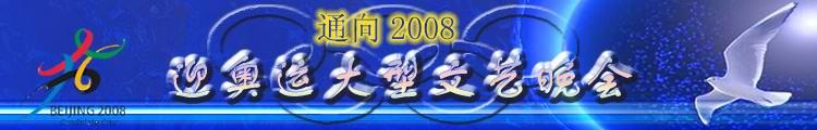 """""""通向2008""""迎奥运大型文艺晚会"""
