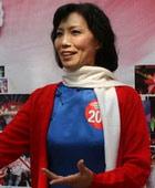 济南-江姐造型的红歌手