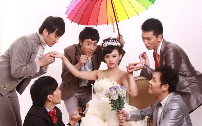 新娘的高规格待遇