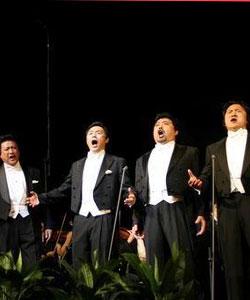 中国歌唱家纪念帕瓦罗蒂