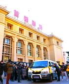 灵车抵达首都剧场