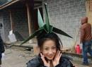 高洋做纸鹤仙女