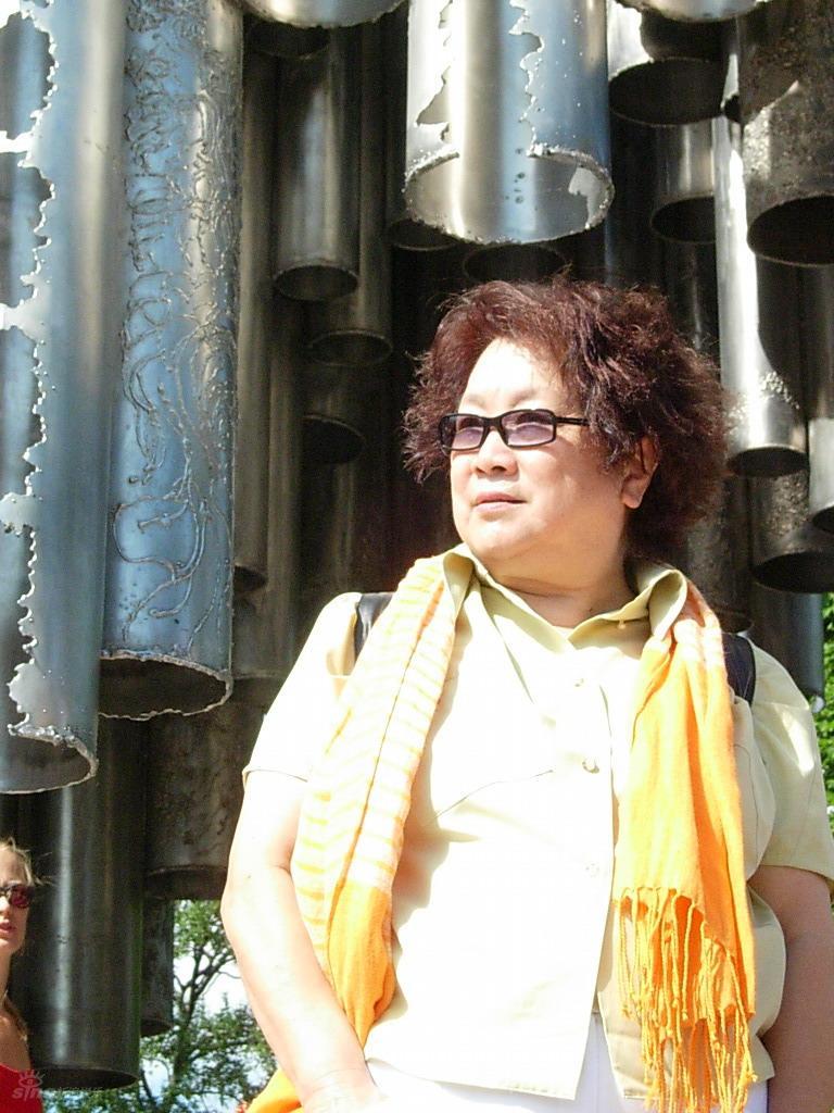资料图片:《图兰朵》主创及演员-陈薪伊