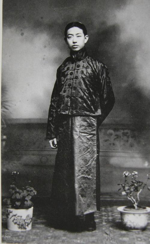 资料图片:话剧《梅兰芳》-梅标1913上海