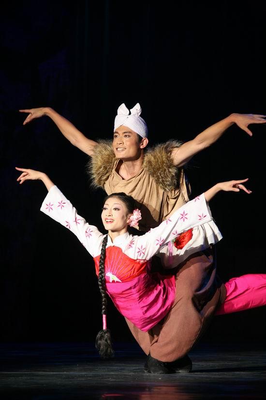 国庆献礼演出剧目:陕北信天游歌舞剧《山丹丹》