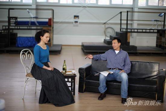 探班《简爱》排练陈数王洛勇演技令人折服(图)