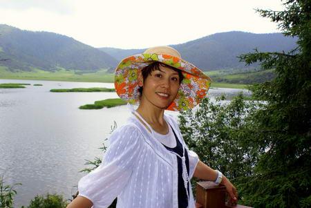 资料图片:国家话剧院女演员--张译方