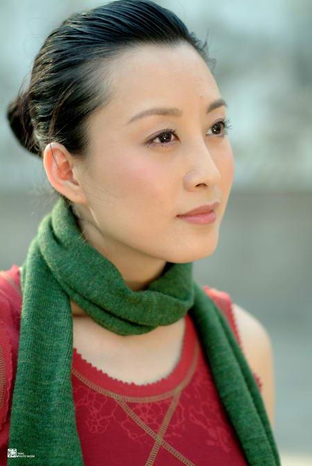 资料图片:国家话剧院女演员--赵倩