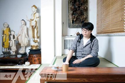 2011年6月29日,拍摄于北京田沁鑫工作室(姜晓明)