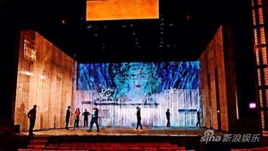 《青蛇》剧组准备美国首场演出