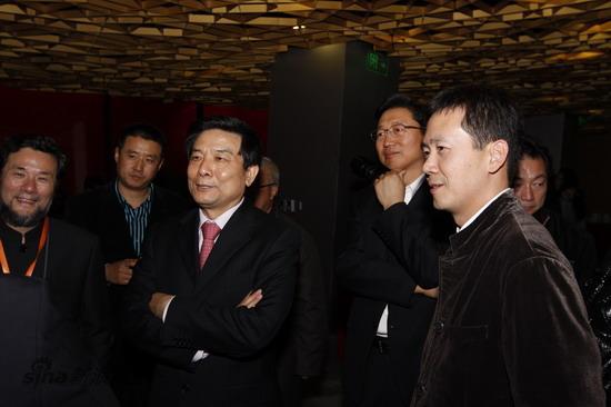 图文:《图兰朵》庆功-北京市副市长、宣传部部长蔡赴朝