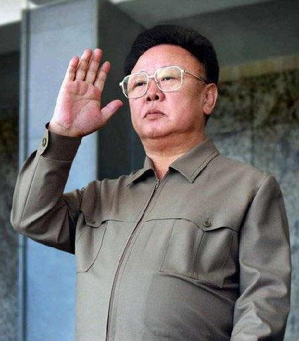 朝鲜前领导人金正日(资料图片)