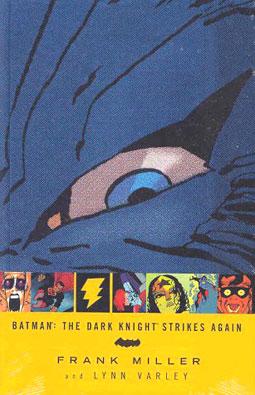 弗兰克-米勒作品赏析:《蝙蝠侠:黑骑士归来》