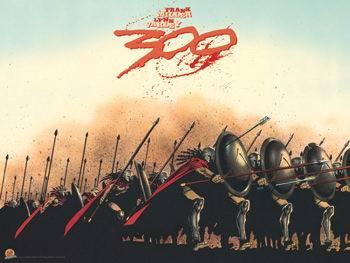 弗兰克-米勒作品赏析:《斯巴达300勇士》