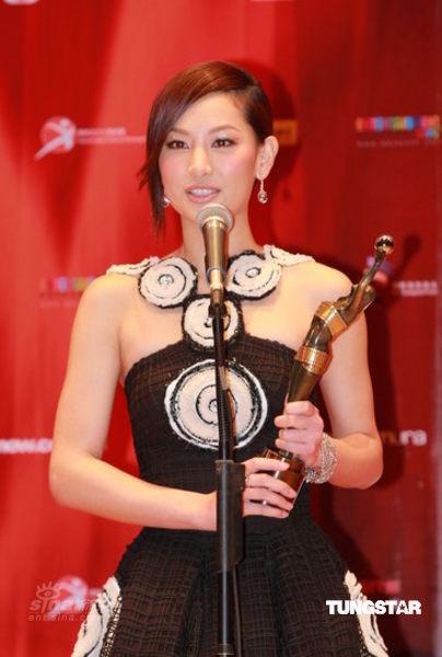 最佳新演员:徐子珊从羞涩到成熟表现到位