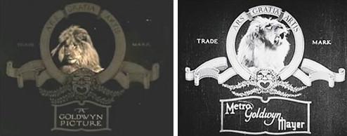 好莱坞六大电影公司标识背后的故事-米高梅