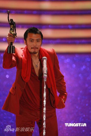 详讯:谢霆锋凭《十月围城》获最佳男配角奖