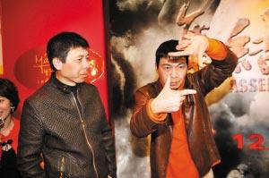《集结号》胃口大王中磊自信能拿两亿票房(图)