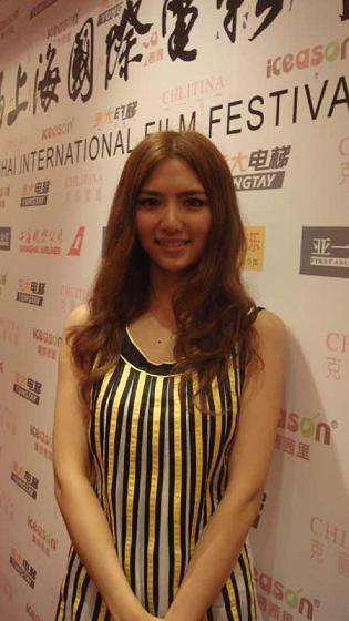 索朗措宣传《冈拉梅朵》亮相上海电影节受关注