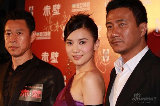 《赤壁》香港首映小宋佳与刘嘉玲老友叙旧(图)