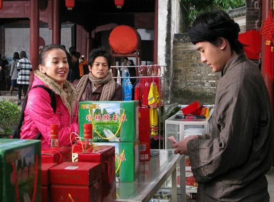《寻找刘三姐》广西热拍苏有朋向黄圣依要分红
