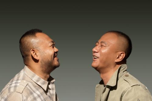 胡军+姜武:最后的两个纯爷们(图)
