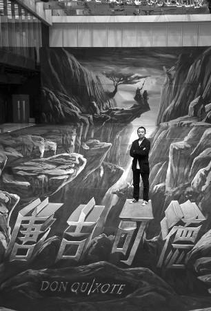 """《唐吉可德》推出巨幅海报阿甘炮轰""""伪3D"""""""