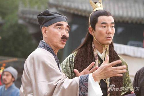 《龙凤店》广州试片导演和罗家英力撑大S(图)