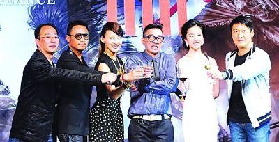 黎明、冯绍峰、刘亦菲等主创于开机发布会