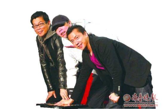 华谊三巨头王中军、冯小刚、王中磊(从左至右)