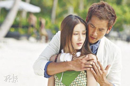 Angelababy与彭于晏在马来西亚的小岛取景拍爱情片